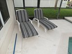 Get a TAN while staying at your Private Pool Home 2865!  Check out your Beautiful Pool Loungers!