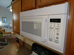 Heat your food up QUICKLY or make Popcorn with your POWERFUL Microwave Oven!