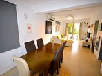 villa sofia ayia napa dining  room