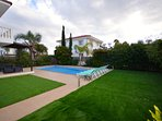 villa sofia ayia napa private swimming pool and gardens
