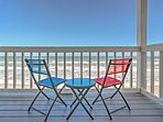 Enjoy oceanfront views in this New Smyrna Beach vacation rental!