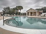 Take advantage of the phenomenal amenities offered by this Clermont vacation rental, like this community pool! The home...