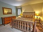 Look forward to great nights of sleep in this comfy queen-sized bed.