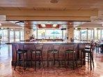 Reflections Restaurant full bar.