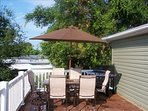 Relax in the sun and grill out on the spacious patio!