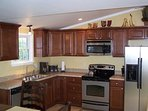 Fully stocked Kitchen comes with stainless steel appliances, Keurig coffee maker, etc.