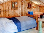The bunk room is perfect for the kids!