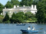 Hire a row boat (in season) and have a picnic on the lake in Regents Park.
