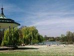 Beautiful Regents Park just a 10-15 min walk or 5 min jog away!.