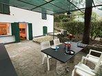 Private patio & barbecue