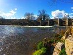 Crickhowell Bridge - a one minute walk from Bridge House