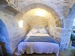 The romantic sleeping alcove