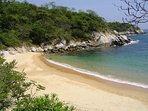 Playa Arrocito beach is a protected cove only a 5-minute walk from the condo.