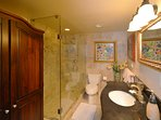 Guest Bathroom With Shower.