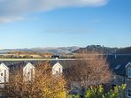 Views from bedroom son upper floor towards Stirling Castle