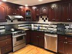 High end, Stainless steel appliance in gourmet kitchen
