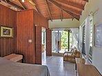 The villa features 3 spacious bedroom suites, providing abundant privacy.