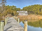 NEW! 'Fishing Cove' Waterfront 8BR Cambridge House
