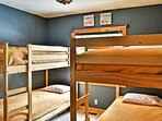 These bunk beds are perfect for kids!