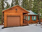 Your rustic Tahoe chalet has plenty of cabin charm!