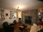 Living Room.  Gas fire and Central Heating