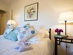La Petite's quiet and comfortable double room.