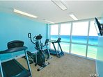 Exercise room - soon to be updated.