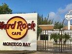 Entrance to Hard Rock Cafe