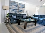 Family room - spacious and tastefully decorated