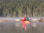Fishing early in the Morning-Bass-Trout-Pickerel