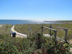 Deeded rights to a private beach and dock on the Herring River