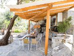 Outdoor shaded dining area is also available to enjoy your breakfast!