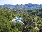 A panoramic aspect of the villa!