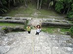 Our house is within a day trip of Belize's Maya archaeological sites.