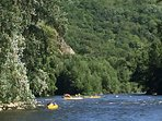 Canoeing on the nearby river Allier- great fun- swimwear advised!!