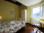 Lake view bedroom