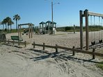 Another Playground plus Beach Volleyball, Shuffleboard and Horse Shoes