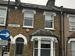 1900 century traditional period house on a quiet one way residential street