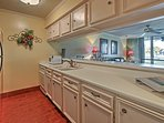 The chef of the group will love cooking in the fully equipped kitchen.