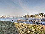 The Lodge Condos boast some of the best panoramic views of  Lake Conroe's Walden Marina and the peaceful cove.