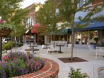 Downtown Hendersonville - 14 miles away. Lots of restaurants, shops, kids stores ect
