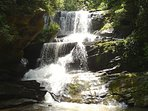 Saluda waterfall- one of many in our area