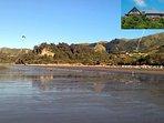 Looking back at Beau Vista from Pohara beach.