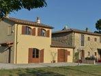 Villa Manciano as you arrive...