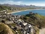 Criccieth and the Castle - only 5 minutes away
