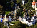 Portmeirion was designed by my Great Uncle - Clough Williams-Ellis