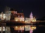 porto di Honfleur a Natale