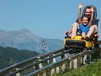 The spine tingling Alpine Coaster on Maiskogel   Kaprun An adrenalin rush if there ever was one.