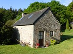 Hazel Cottage is quaint and cosy in a glorious setting