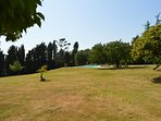 beautiful park of 6 hectares at your disposal